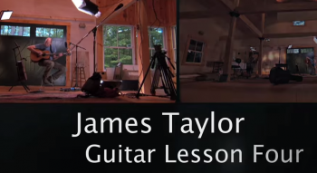 James Taylor's Guitar Lessons.
